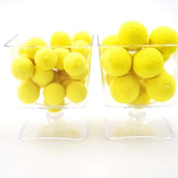 Pop up Jaune Fruits Exotiques Présentation